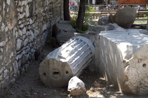 Broken Column and Inscribed Stone, Thyatira