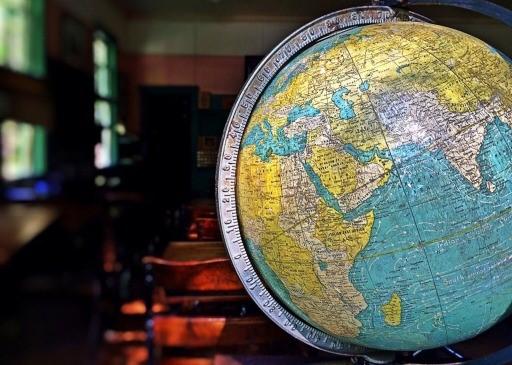 Globe World Earth Planet Sphere Classroom