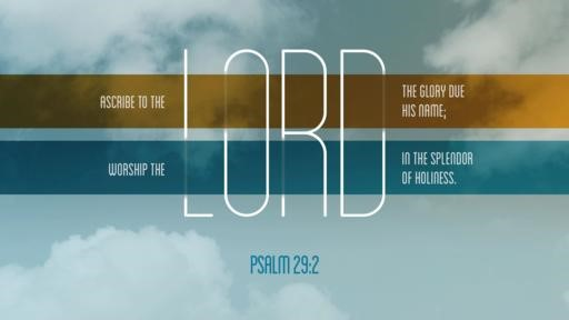 Psalm 292 [widescreen]