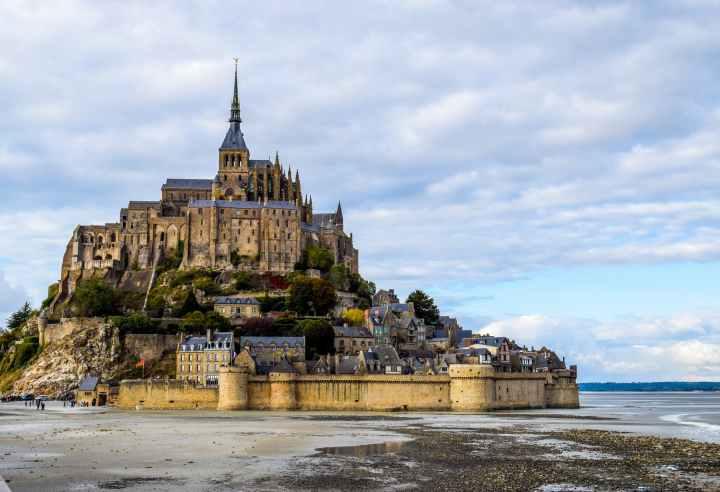 architecture bay building castle