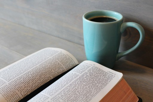 Bible Study Coffee Cup