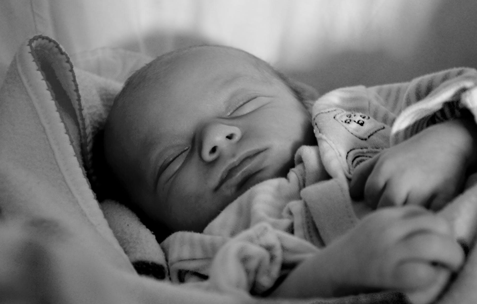 baby newborn born sleeping