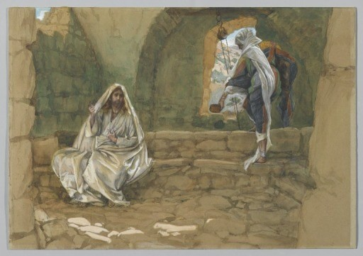 the woman of samaria at the well
