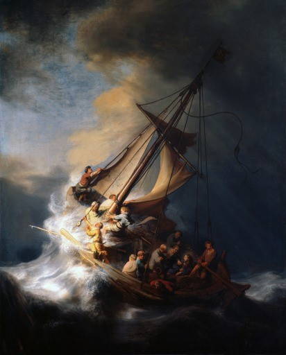 Storm on the Sea of Galilee
