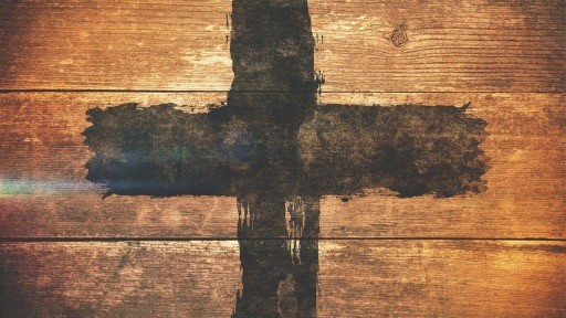 Weathered Cross Title