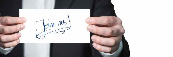 advertisement businessman hands handwriting