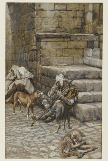 Poor Lazarus at the Rich Man's Door
