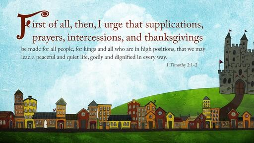 1 Timothy 21–2 [widescreen]