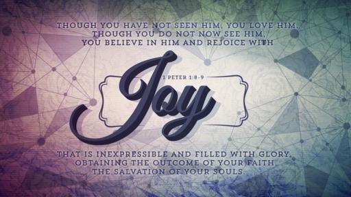 1 Peter 18–9 [widescreen]