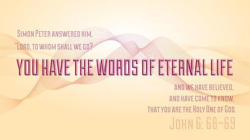 John 668–69 [widescreen]