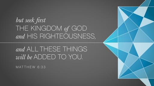 Matthew 633 [widescreen]