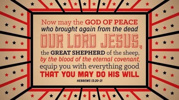 Hebrews 1320–21 [widescreen]