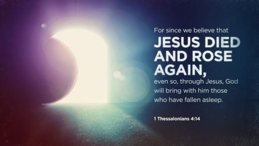 1 Thessalonians 414 [widescreen]