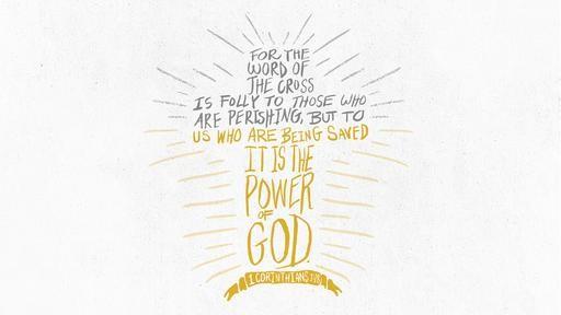 1 Corinthians 118 [widescreen]